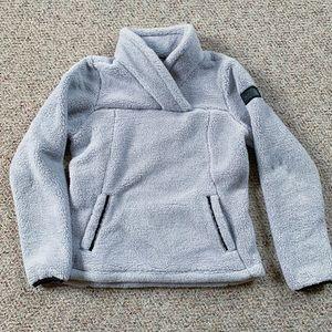 North Face Fleece Wrap Neck Pullover